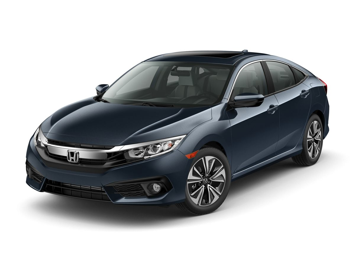 2017 Honda Civic EX-T Blue Turbocharged Theres no substitute for a Honda Manly Automotive is h