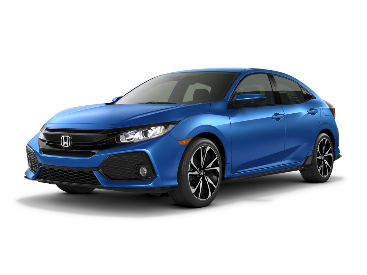 2017 Honda Civic Sport Blue Turbocharged Isnt it time for a Honda How great a day is it going