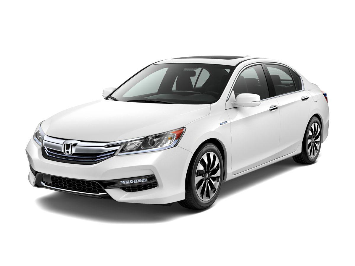 2017 Honda Accord Hybrid EX-L White 17 Alloy WheelsHeated Front Bucket SeatsLeather-Trimmed Se