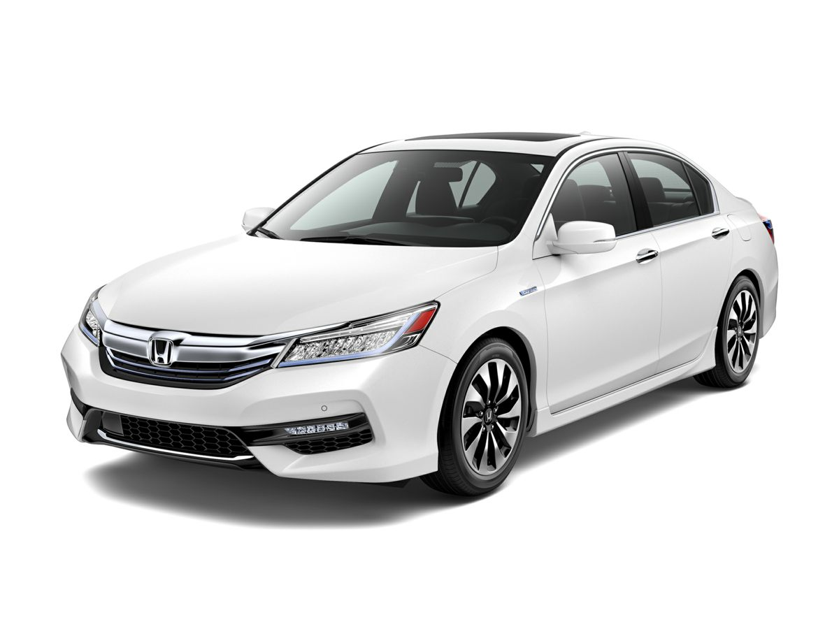 2017 Honda Accord Hybrid Touring Silver Take charge of the winding road Self-stick with leading-