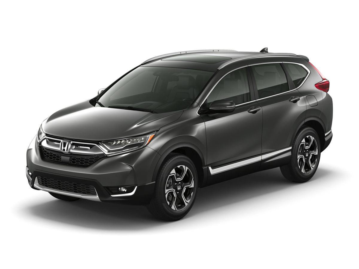 2017 Honda CR-V Touring Silver Smile as you swiftly drive past another gas station Fatten your m