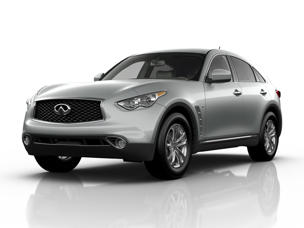 2017 INFINITI QX70 Base Black Recent Arrival 2017 INFINITI QX70 - SAVE THOUSANDS with SPORT AUTO