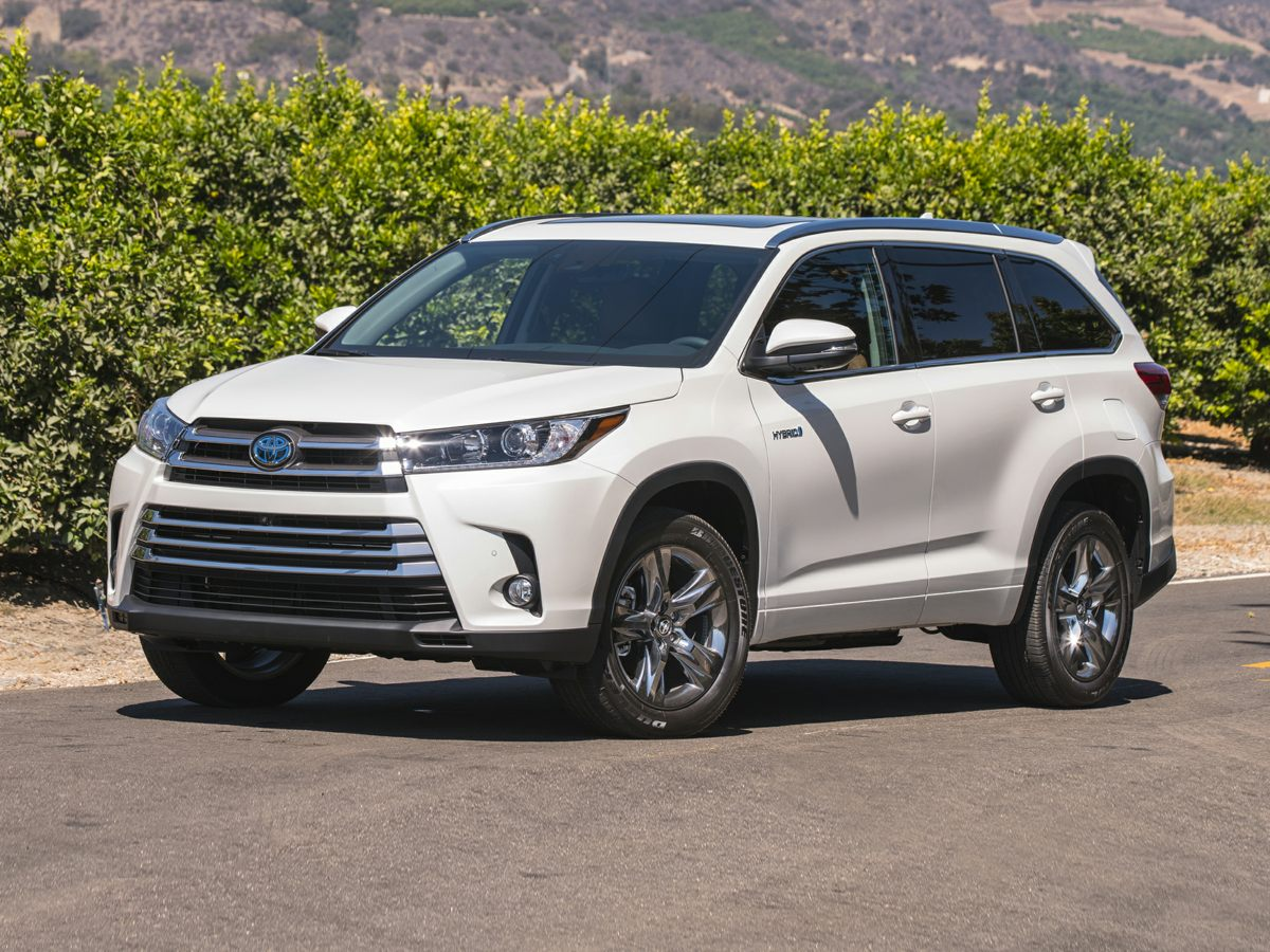 2017 Toyota Highlander Hybrid Limited Platinum White Price includes 1000 - TMS Customer Cash -