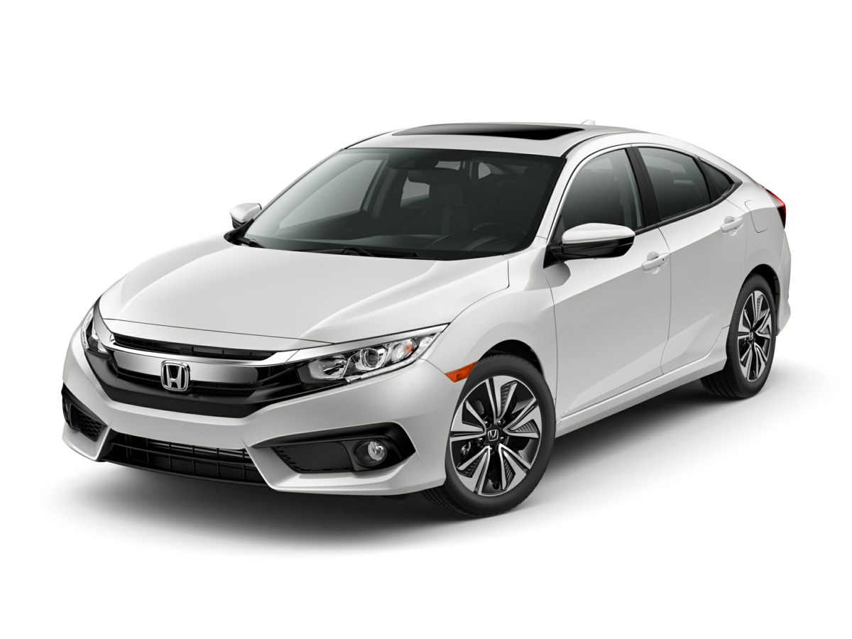2018 Honda Civic EX-T White Reclining Heated Front Bucket SeatsCloth Seat TrimRadio 180-Watt A