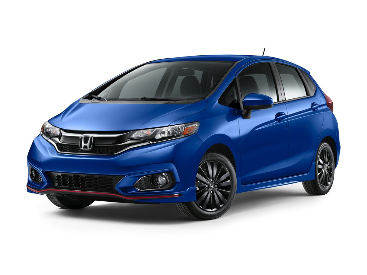 2018 Honda Fit Sport Silver Traction control keeps you from slip sliding away Self-stick with le