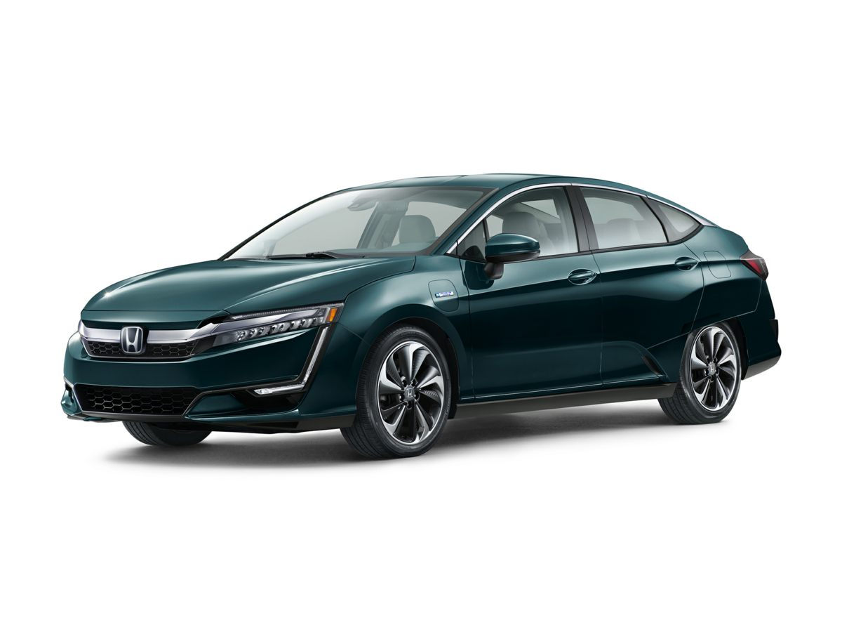 2018 Honda Clarity Plug-In Hybrid Touring Black Heated Front Bucket SeatsPerforated Leather-Trim