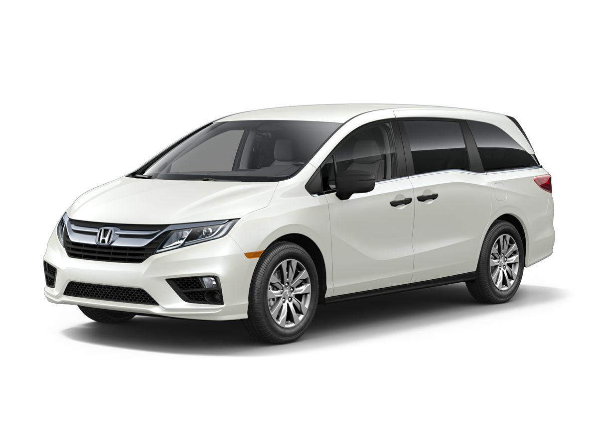 2018 Honda Odyssey LX Gray Stability and traction control come to grips with the road Take hold