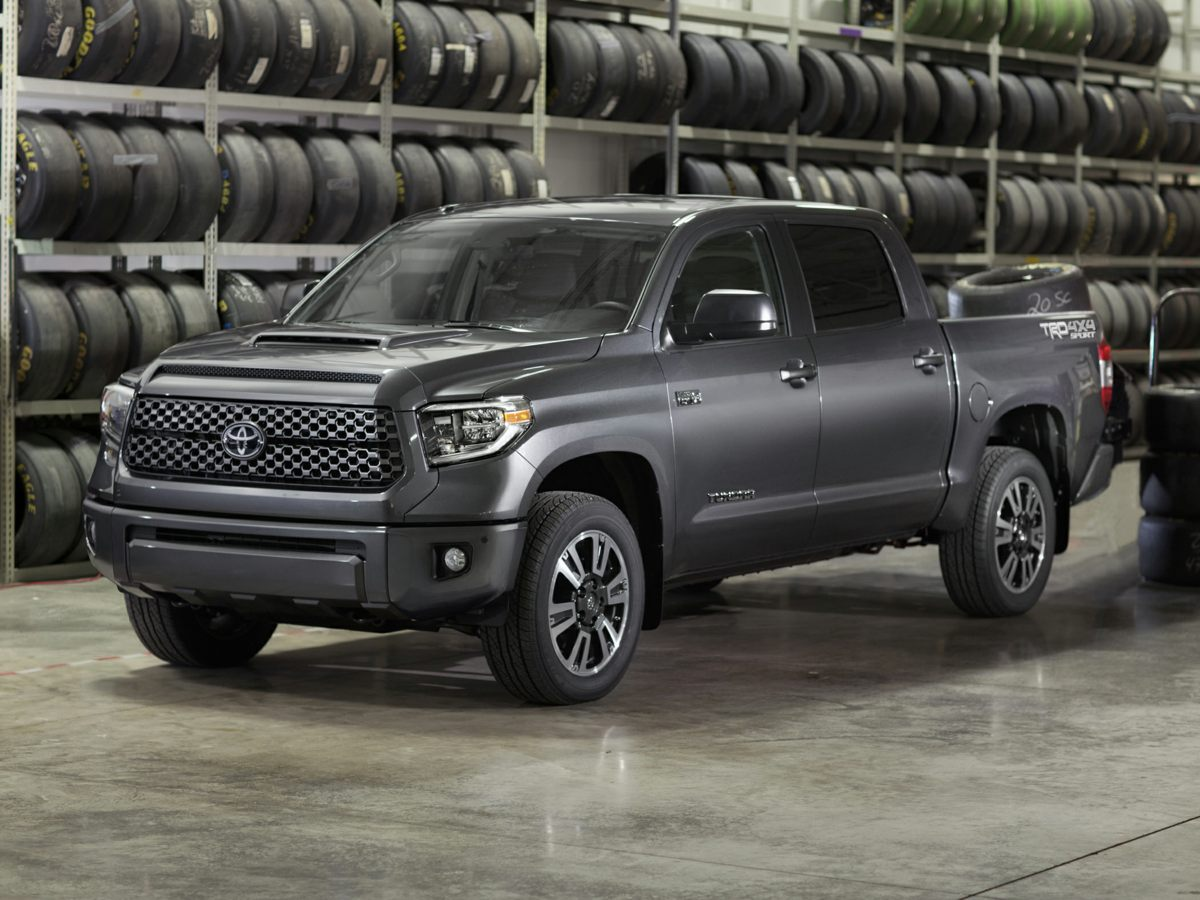2018 Toyota Tundra Limited 4D CrewMax