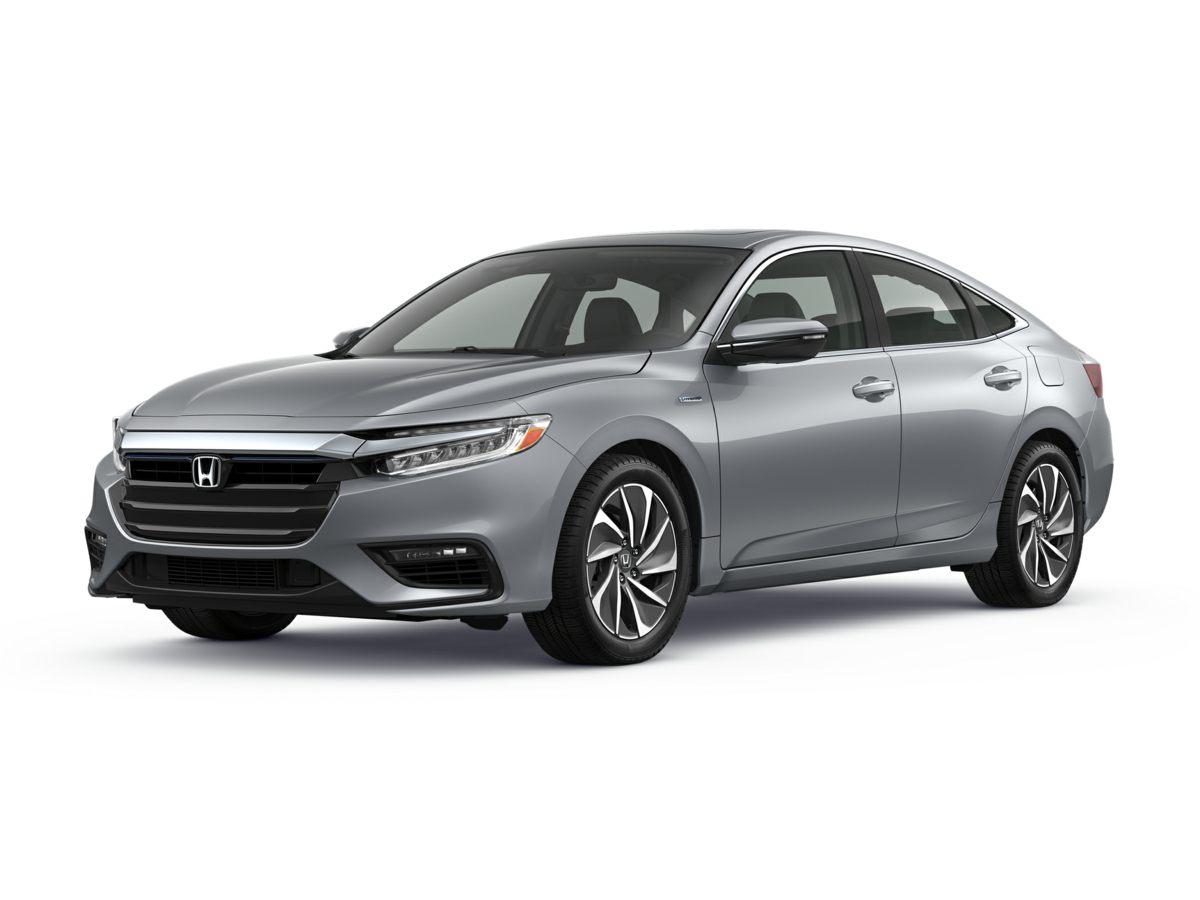 2019 Honda Insight Touring White 17 Aluminum Alloy WheelsHeated Front Bucket SeatsLeather Seat