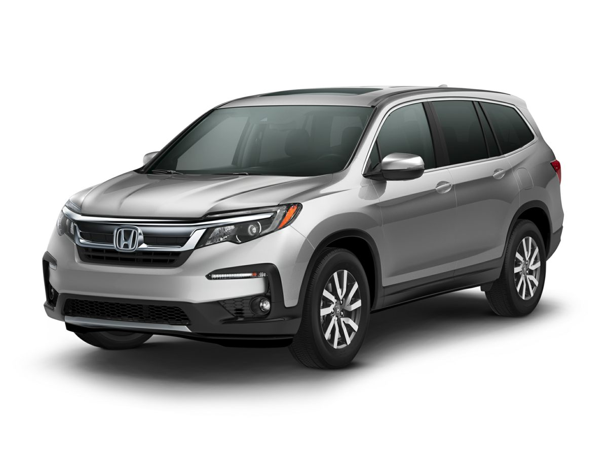 2019 Honda Pilot EX-L White 425 Axle RatioHeated Front Bucket SeatsLeather-Trimmed SeatsRadio