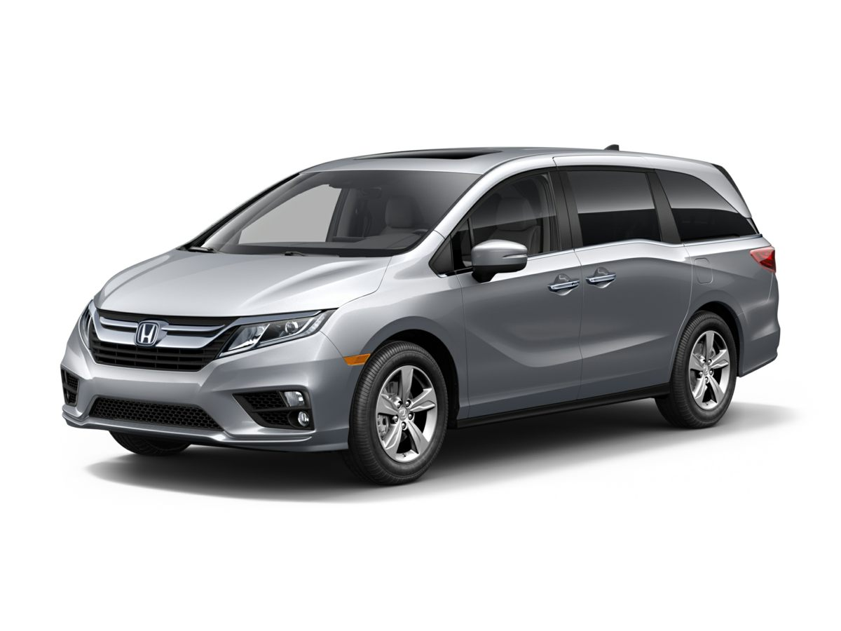 2019 Honda Odyssey EX-L Gray 433 Axle RatioHeated Front Bucket SeatsLeather Seat TrimRadio 1