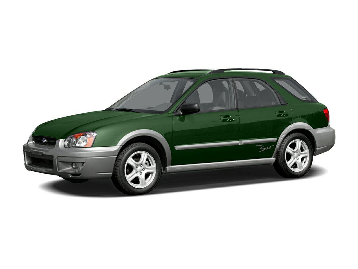 2005 Subaru Impreza Wagon (Natl) OUTBACK SPORT BLUE