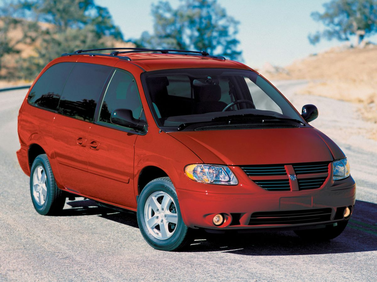 2007 Dodge Caravan 4dr Wgn SE BLUE Driver vanity mirror