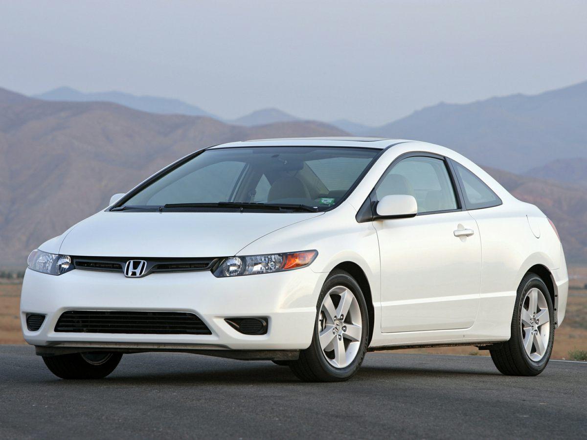 2006 Honda Civic Cpe EX AT SILVER Driver door bin