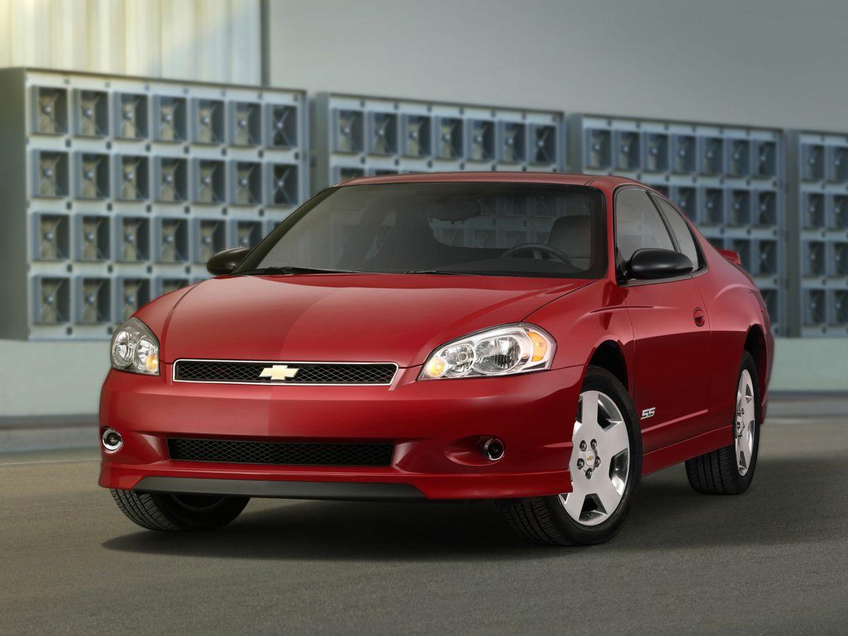 2007 Chevrolet Monte Carlo 2dr Cpe LT WHITE Compass