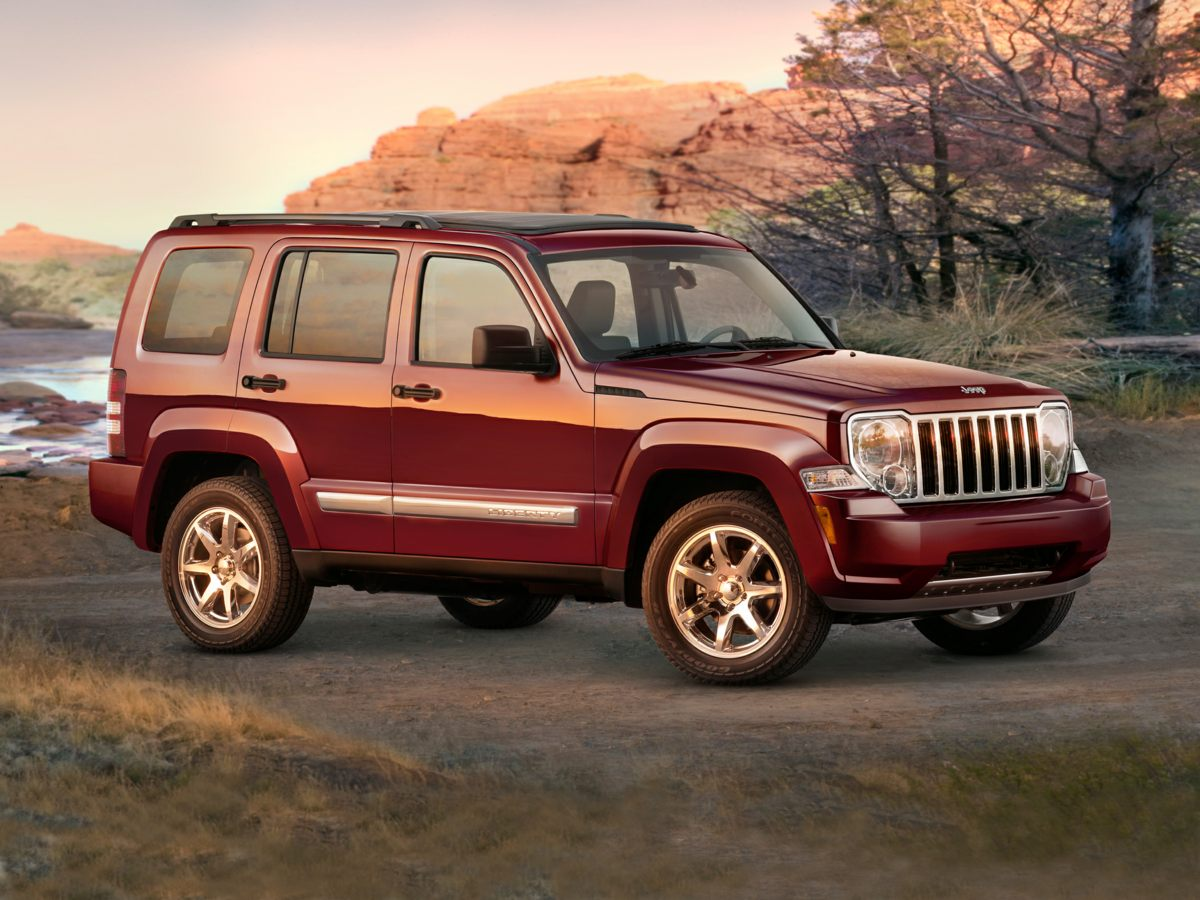 2008 Jeep Liberty 4WD 4dr Sport SILVER Bumpers: body-color
