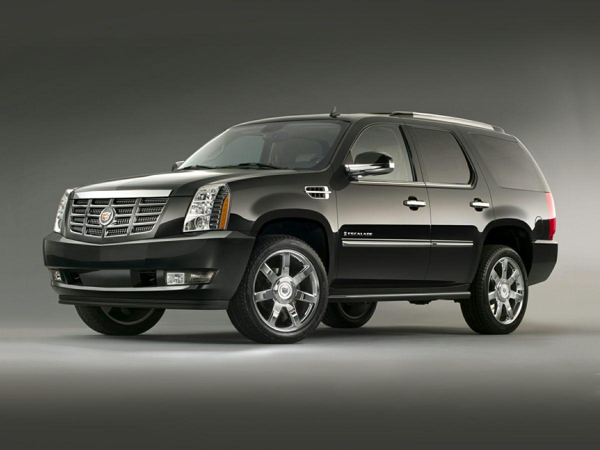 2012 Cadillac Escalade AWD 4dr Luxury BLACK Air Conditioning