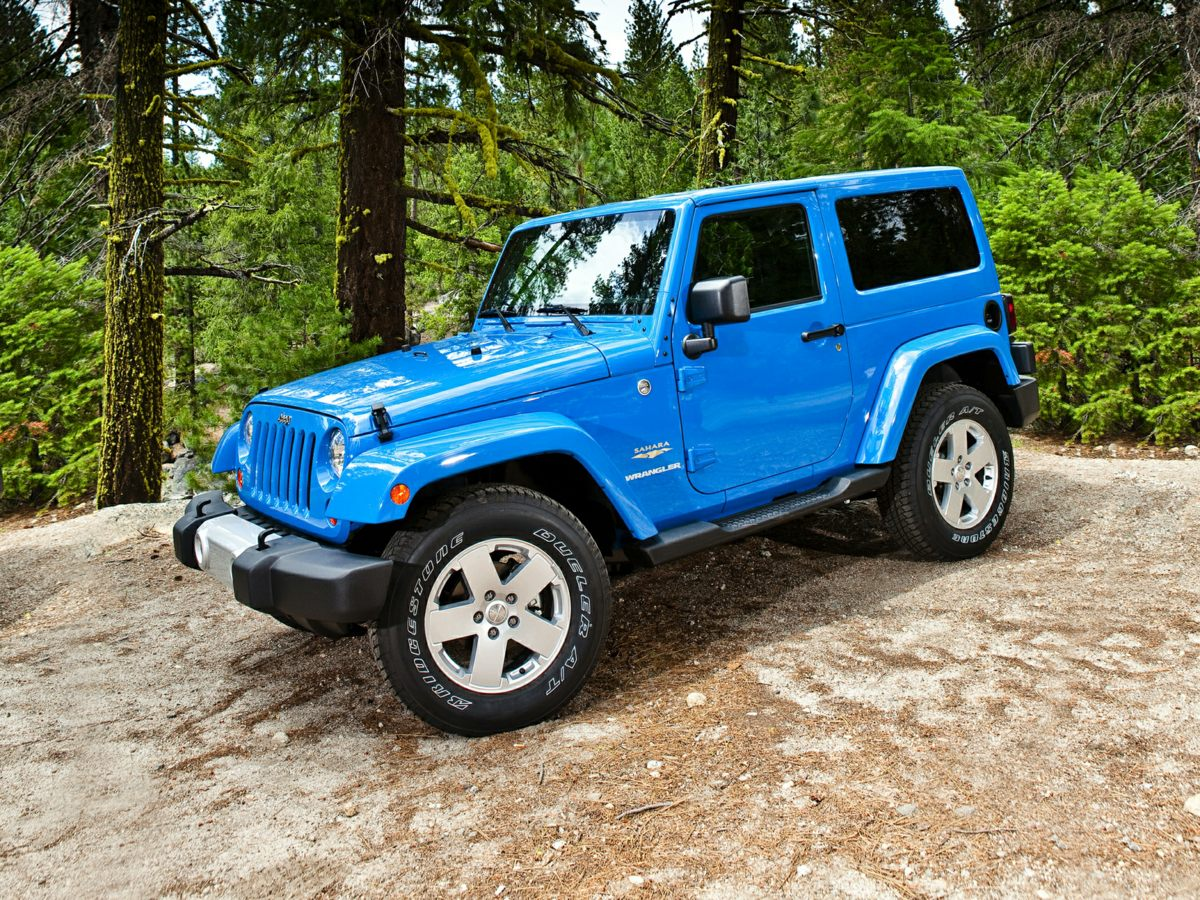 2011 Jeep Wrangler 4WD 2dr Sport BLUE Brake assist
