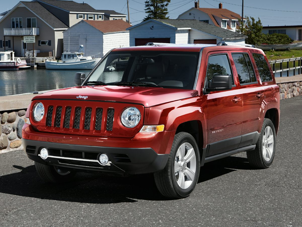 2012 Jeep Patriot FWD 4dr Sport SILVER CD player