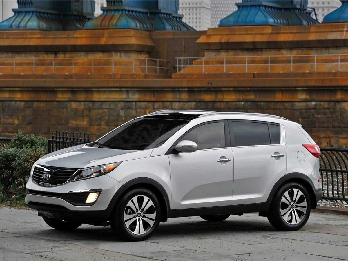 2011 Kia Sportage AWD 4dr EX RED Brake assist