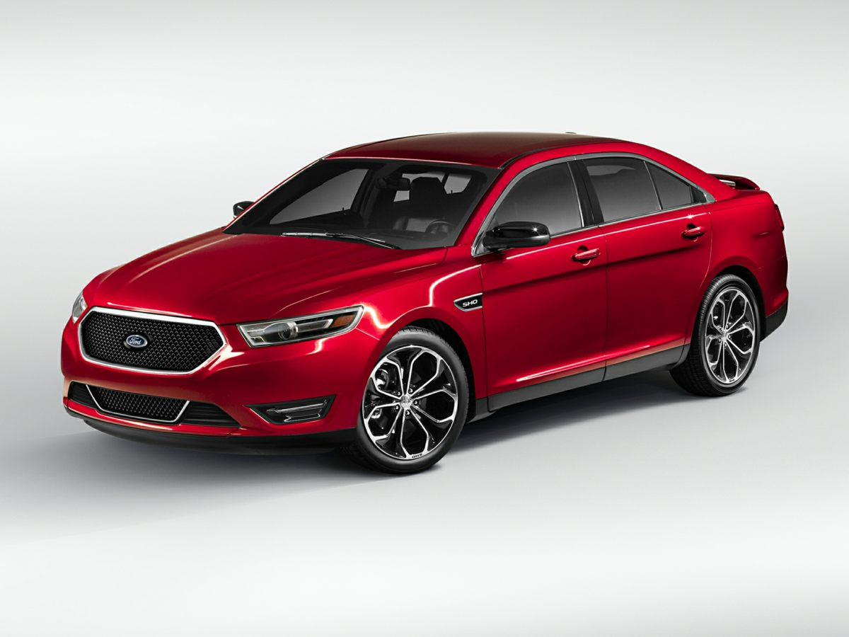 2013 Ford Taurus 4dr Sdn SHO AWD RED