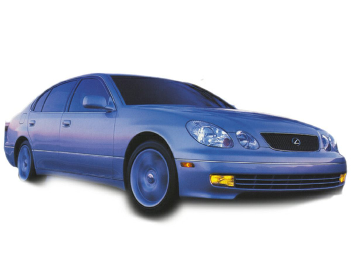 1998 Lexus GS 300 Luxury Perform Sdn 4dr Sdn Bumpers: body-colo