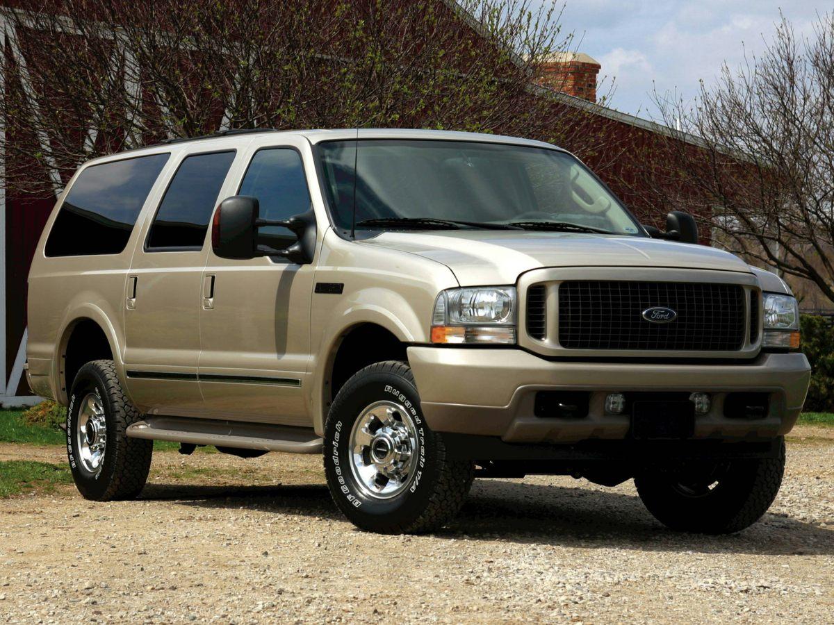 """2004 Ford Excursion 137"""" WB 6.0L Eddie Bauer 4WD"""
