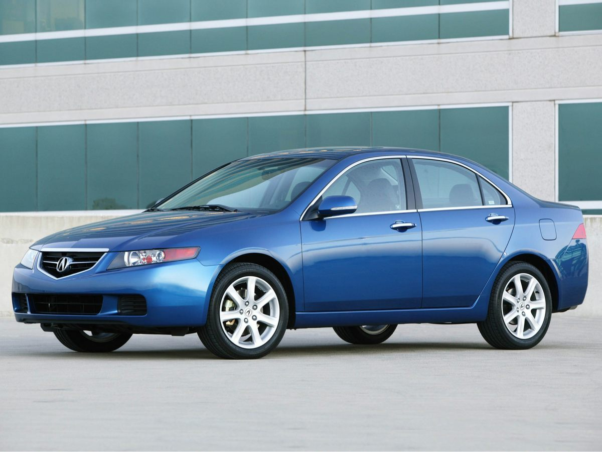 2005 Acura TSX 4dr Sdn AT CD player Bumpers: body-color