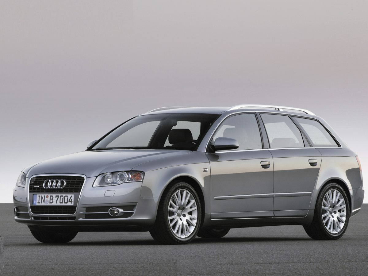 2006 Audi A4 2.0T Avant BLACK Bumpers: body-color Brake assist