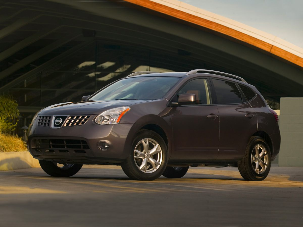 2008 Nissan Rogue CD player Bumpers: body-color Brake assist