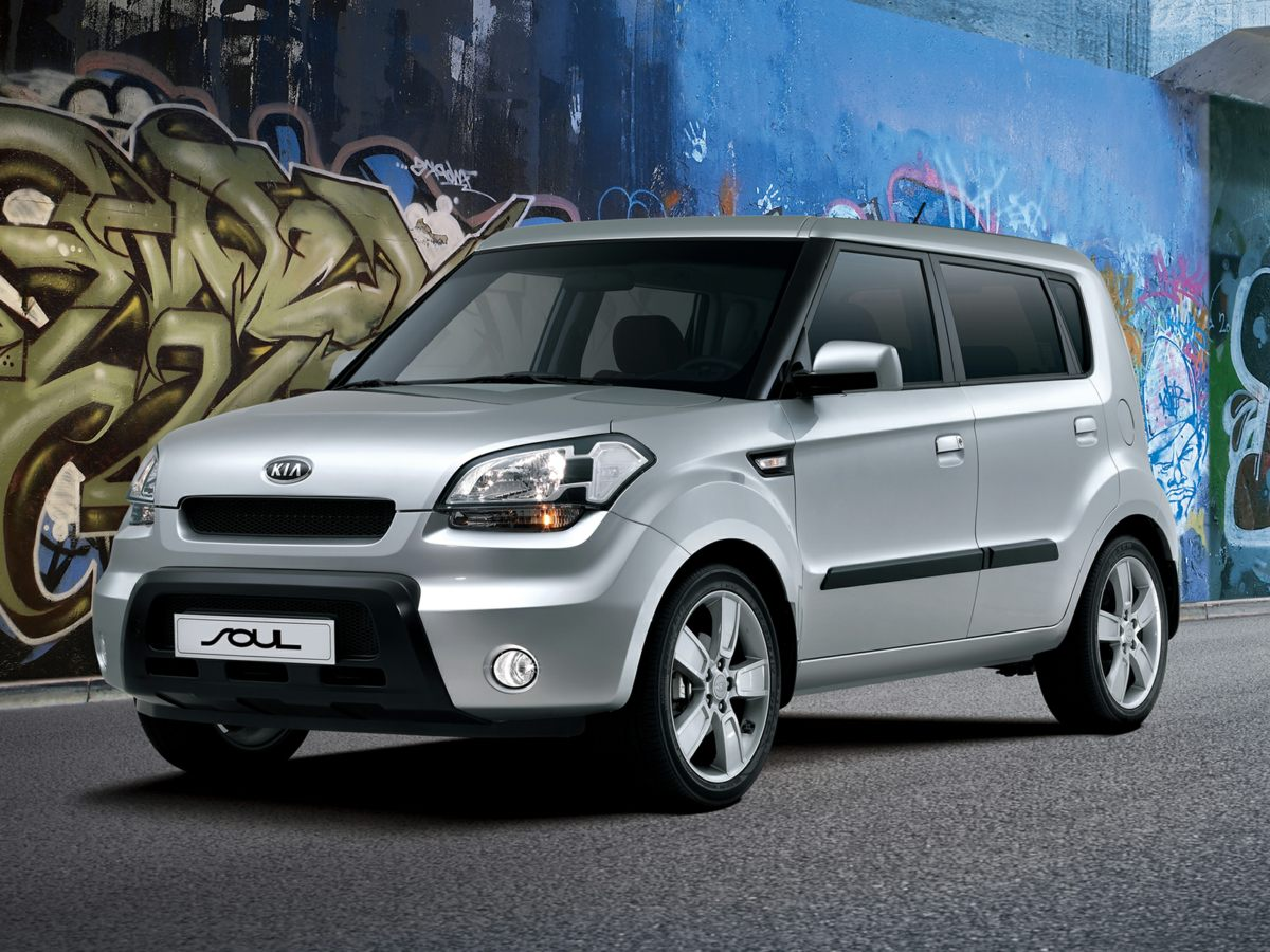 2011 Kia Soul PLUS SILVER Bumpers: body-color Brake assist