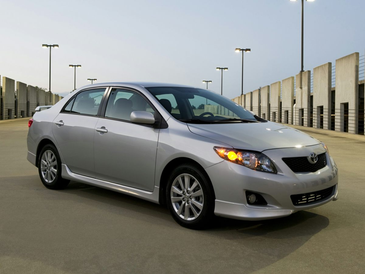 2010 Toyota Corolla SILVER Dual front side impact airbags