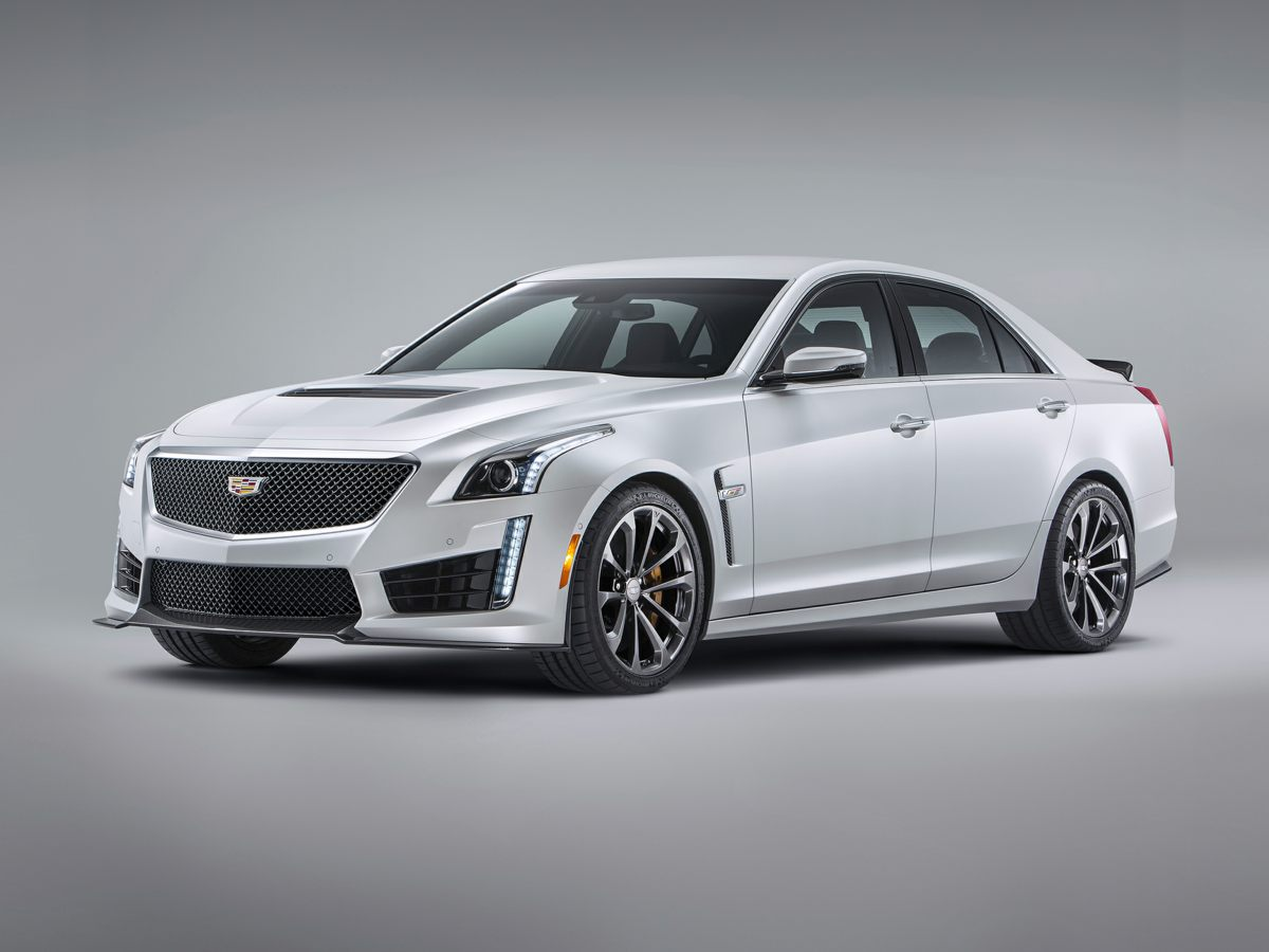 2018 Cadillac CTS-V Base WHITE Auto High-beam Headlights