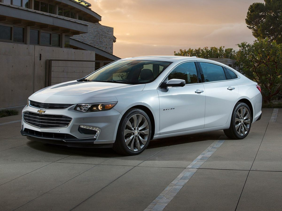 2016 Chevrolet Malibu HYBRID GRAY Compass Bumpers: body-color