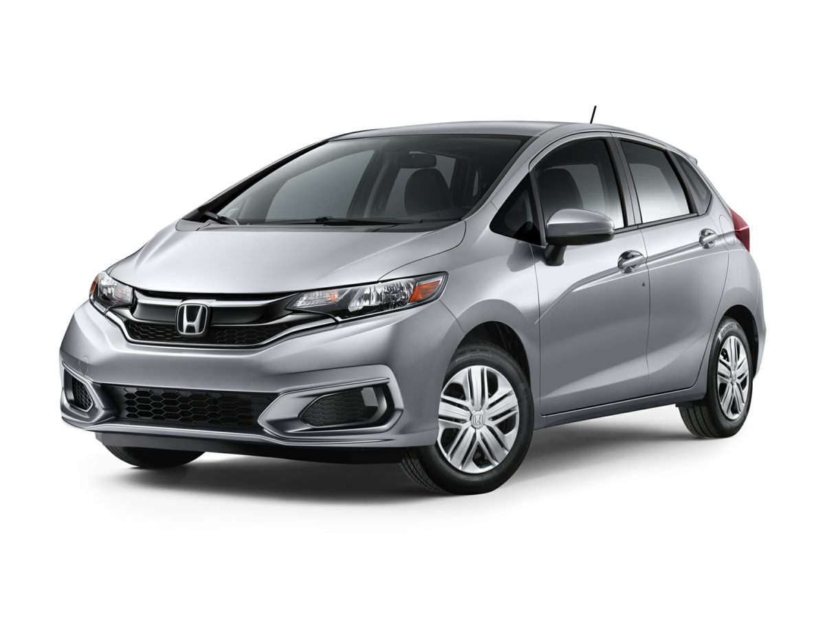 2019 Honda Fit LX WHITE Dual front impact airbags