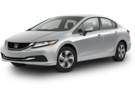 2014 Honda Civic Sedan LX 5MT 4Dr