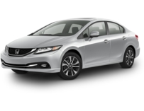 2013 Honda Civic 4DR SDN EX-L AT W/NV