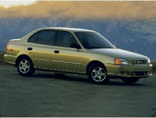 2001 Hyundai Accent Sedan