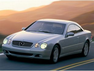 2002 Mercedes-Benz CL-Class Coupe