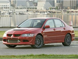 2005 Mitsubishi Lancer Evolution Sedan