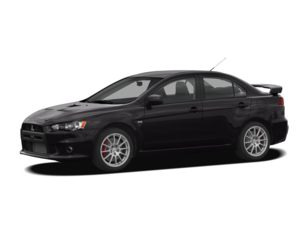 2008 Mitsubishi Lancer Evolution Sedan