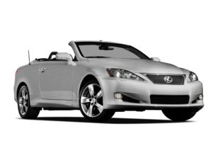 2011 Lexus IS 350C Convertible