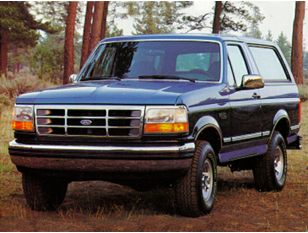 1992 Ford Bronco SUV