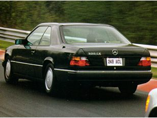 1992 Mercedes-Benz 300 Coupe