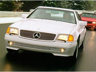 1993 Mercedes-Benz 600 Coupe