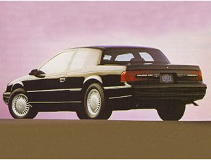 1992 Mercury Cougar Coupe