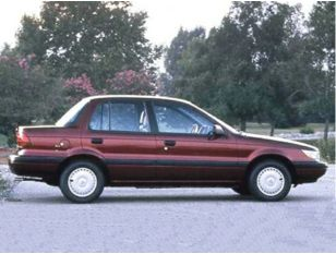 1992 Mitsubishi Mirage Sedan