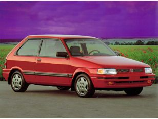 1992 Subaru Justy Hatchback