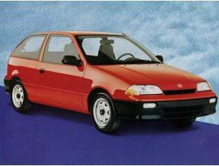 1992 Suzuki Swift Hatchback