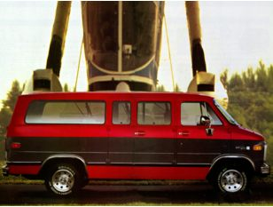 1993 GMC Rally Wagon Van